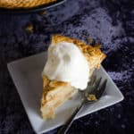 This ain't your Mama's apple pie! Adding a boozy twist to an American classic, this is bourbon butterscotch apple pie!