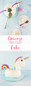 You're never too old for a unicorn pool float... or a unicorn pool float cake! Learn how to make this sweet, summery cake in this easy tutorial.