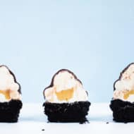 Chocolate and Salted Bourbon Caramel Cupcakes