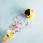 These cheery little chick cake cones are the embodiment of everything you loved about Easter as a kid: they're colorful, chocolaty and full of sweet surprises!