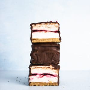 Raspberry S'more Bars