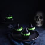 The Easiest Witch Hat Cupcakes