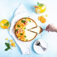No-Bake, Gluten Free Gingersnap Tangerine Tart