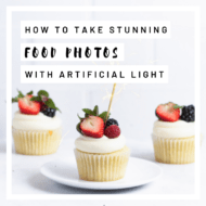 Artificial Light for Food Photography